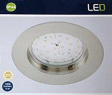 LED-Bad-Einbauleuchte 12 W Warm-Weiß Briloner
