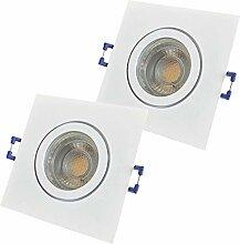 LED Bad Einbauleuchten 12V inkl. 2 x 5W LED LM