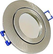 LED Bad Einbauleuchten 230V inkl. 10 x 9W SMD LM