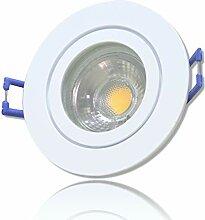 LED Bad Einbauleuchten 230V inkl. 2 x 3W LED LM