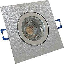 LED Bad Einbauleuchten 230V inkl. 7 x 7W LED LM