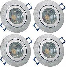 LED Bad Einbaustrahler 12V inkl. 4 x 5W LED LM