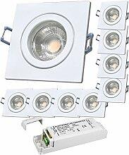 LED Bad Einbaustrahler 12V inkl. 9 x 5W LED LM