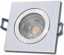 LED Bad Einbaustrahler 230V inkl. 10 x 7W LED LM