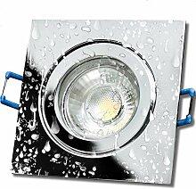 LED Bad Einbaustrahler 230V inkl. 2 x 5W LED LM