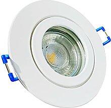 LED Bad Einbaustrahler 230V inkl. 3 x 3W LED LM