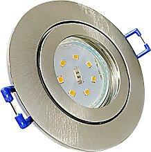 LED Bad Einbaustrahler 230V inkl. 3 x 5W SMD Modul
