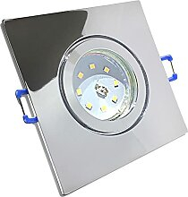 LED Bad Einbaustrahler 230V inkl. 3 x 7W SMD Modul