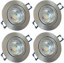 LED Bad Einbaustrahler 230V inkl. 4 x 5W LED LM