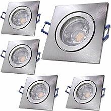 LED Bad Einbaustrahler 230V inkl. 5 x 5W LED LM