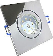 LED Bad Einbaustrahler 230V inkl. 5 x 5W SMD Modul