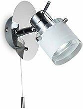 LED Bad Wandleuchte Wandlampe schwenkbar