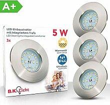 LED Badeinbaustrahler Ultra Flach Inkl. 3 x 5W LED