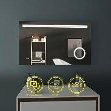 LED Badspiegel 100x60cm Beleuchtung