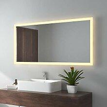 LED Badspiegel 120x60cm Badspiegel mit Beleuchtung