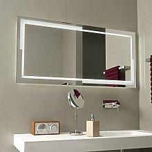 LED-Badspiegel beleuchtet Bayramo - B 600mm x H