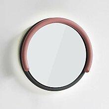 LED-Badspiegel mit Licht Einfache Runde Mit