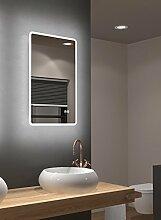 LED Badspiegel Talos Sun 45 x 70 cm, Warmweiß