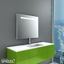 LED Badspiegel Wandspiegel mit Beleuchtung Fondo 60 x 70 cm - Spiegelwerk.eu