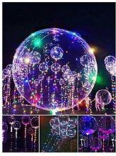 LED Ballon Magic XL 50cm Luftballon Lichterkette