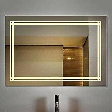 LED Beleuchtet Badezimmerspiegel, An der Wand
