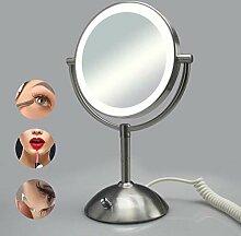 WEO-5 LUXUS DOPPEL Kosmetikspiegel Nomal+5Fach