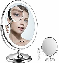 LED Beleuchteter Schminkspiegel Kosmetikspiegel -