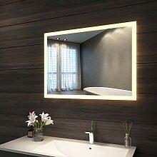 LED Beleuchtung Badspiegel 60 cm mit Touchschalter