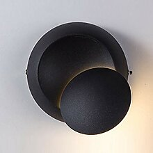 LED Bett Wandlampe Modern, Minilist 360 Grad