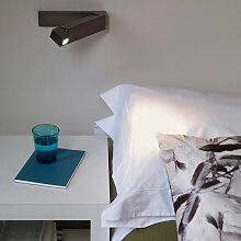 LED Bettleuchte Tosca in Bronze 2,2W, 61lm