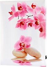 LED-Bild Orchidee, rosa