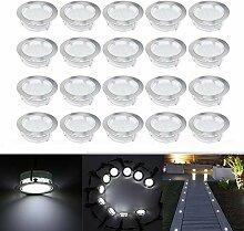 LED Boden Einbaustrahler, 20er Set