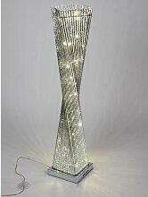 LED Bodenlampe, Leuchte DRAHT eckig H. 100cm