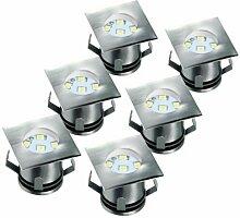LED-Brunnen-/Teichbeleuchtung 1-flammig Arquette
