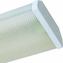 LED-Büro-Deckenleuchte, 2x 1.800 lm, 4000K, 2x