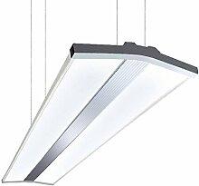 LED Büroleuchte Hängelampe Länge 80 cm Breite
