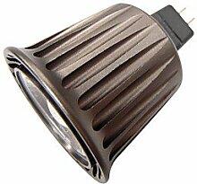 led bulbs, 5 G53 LED Spot Lampen MR16 1 Hochleistungs - LED 340 lm Warmes Weiß / Kühles Weiß Dekorativ DC 12 V 1 Stück long life ( Lichtfarbe : Kaltes Weiß )