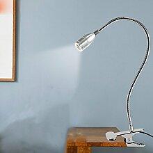LED Clip leuchte, Lampe, Schreibtisch, Lampe,