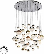 LED-Cluster-Pendelleuchte Sphere Schuller