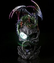 LED Crystal Eye Dark Legends Drachenfigur