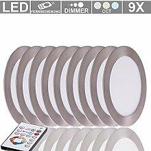 LED Decken ALU Einbau Strahler DIMMBAR Leuchte