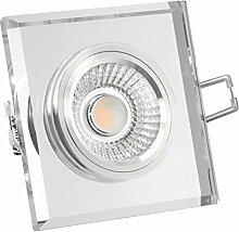 LED Decken Einbauleuchte dimmbar & flach (45mm)