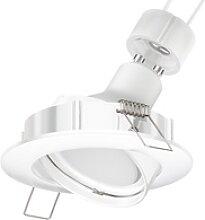 LED Decken-Einbaustrahler CIRC schwenkbar GU10