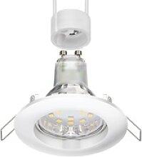 LED Decken-Einbaustrahler CIRC weiß GU10 LED