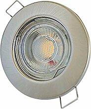 LED Decken Einbaustrahler flach 230V inkl. 3 x 5W