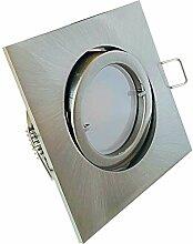 LED Decken Einbaustrahler Lana 230V Eckig Farbe