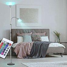LED Decken Fluter Steh Lampe Leuchte Beleuchtung