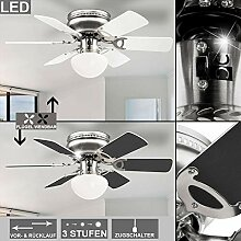 LED Decken Lampe Küchen Büro Ventilator Raum