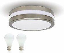 LED Decken-leuchte Bad-Lampe Aussen-Leuchte