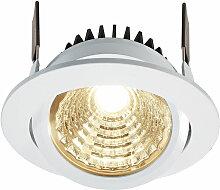 LED Deckeneinbauleuchte COB95 in Weiß 12W 24V